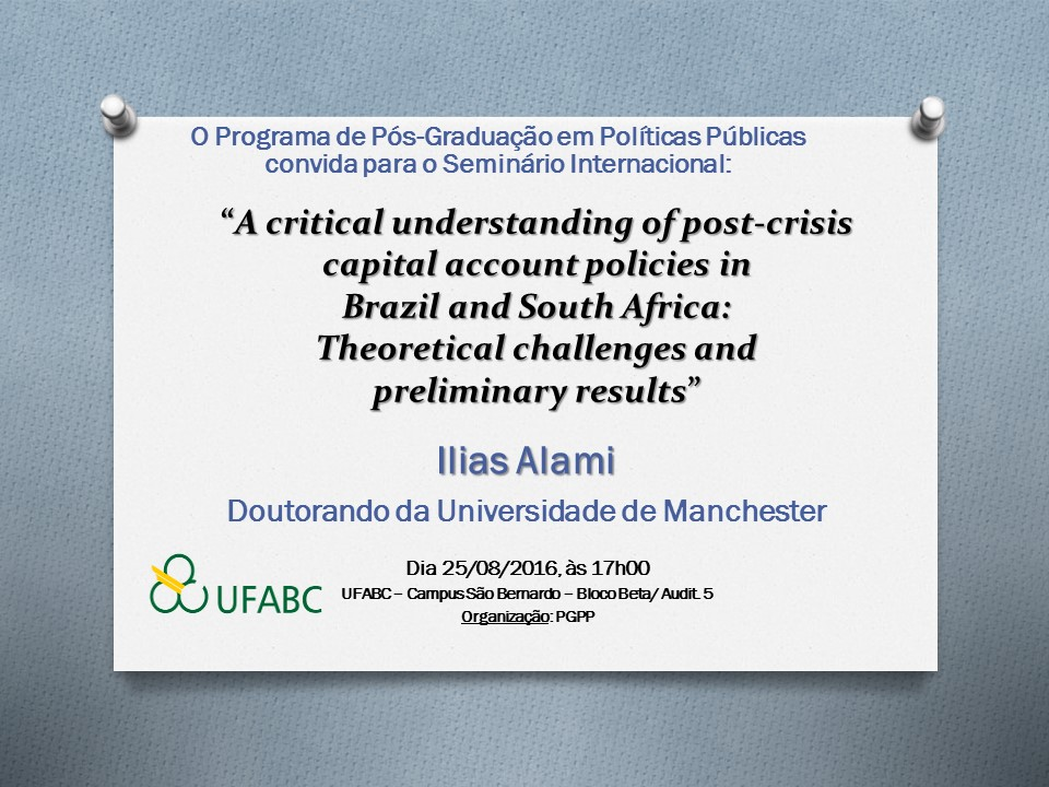 A critical understanding of post-crisis capital account